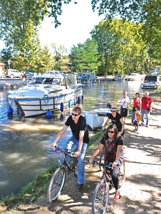 fietsen in de Aude