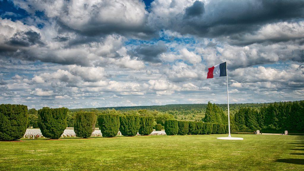 Oorlogsgraven in Verdun